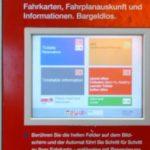NRW・切符と自動券売機のあれこれ