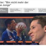 ドラクスラー、ZDFのSportstudioに出演